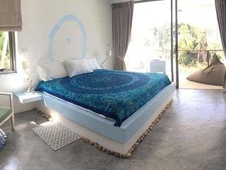Chambre double, 'SAPHIR'vue mer, piscine Koh Samui