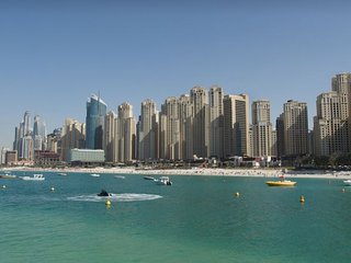 3BR, 2' Walk to JBR Beach