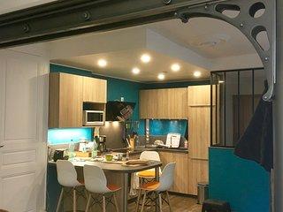 Logement 54 m2 grand confort situé au cœur  de ville ,à proximité cure thermale