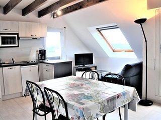 Appartement Duplex avec petite vue mer - Evan