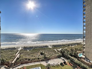 NEW! Oceanfront North Myrtle Beach Condo w/ Pool!