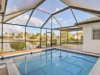 Marco Island Home w/Pool Near Tigertail Beach