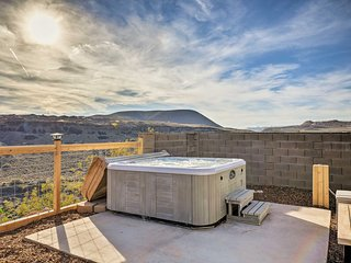 NEW! La Verkin Home w/ Hot Tub - 21 Miles to Zion!