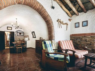 stunning cave lodging in Andalusia, carro