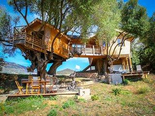 Agence Propriano Location : Cabane dans les arbres tout confort