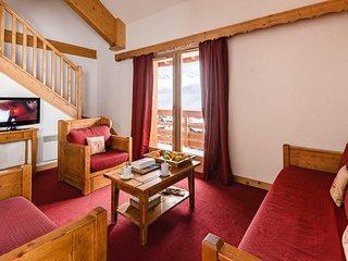 Appartement cosy pour 6 | Au pied des pistes!