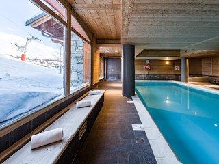 Au bord des pistes ! Bel Appartement 8p avec accès Piscine + Sauna