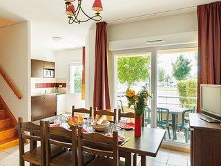 Appartement spacieux et cosy pour 8 | Balcon prive!
