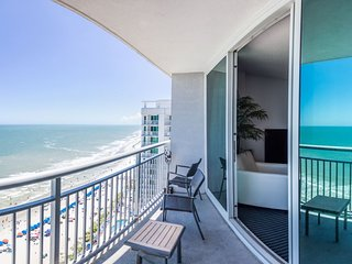 2BR/2BA Oceanfront King Suite~Ocean's One Resort 1806