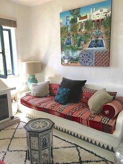 Artwork throughout Casita Mosaica is by local Gaucin artists.