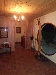 Interior de la casa.