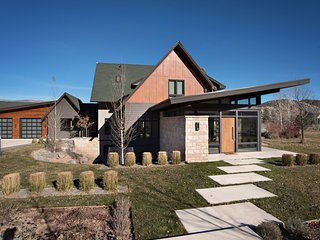 Modern Luxury Home with Breathtaking Views of Mount Sopris! Private Setting!