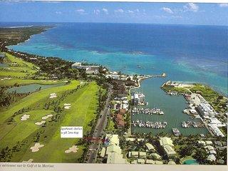 Appartement vue sur le Golf Marina de Saint François