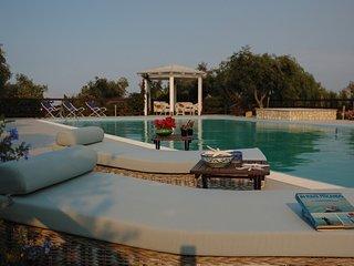 Villa Tenute Aversa con piscina