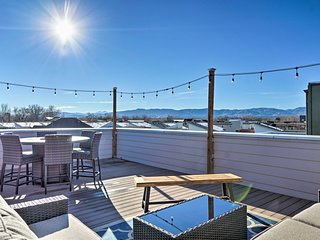 NEW! Hip Old Town Fort Collins Home w/Mtn Views!