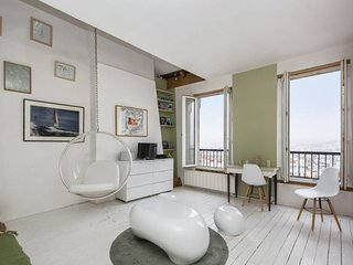 Cosy flat with amazing view on Paris for 2p