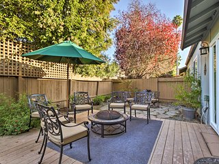 NEW! Santa Rosa Condo w/Lavish Patio By Vineyards!