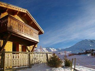 Ski aux pieds ! Chalet cosy et charmant 9p, coeur de la station