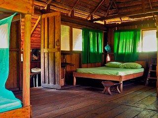 Cabanas en las selva
