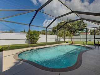 South Venice Pool Home with Fenced Yard, WiFi, Dog Friendly