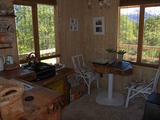 Parque Nacional Conguillio Cabaña independientes un piso para tres personas