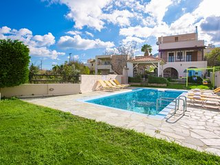Villa Dimitra - Amazing sea and country views! With private pool & playground!
