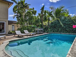 NEW! Ft. Lauderdale Home w/Pool- 5 Mi. to Las Olas