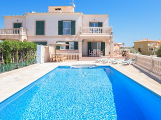 4 bedroom Villa in Portocolom, Balearic Islands, Spain : ref 5685211