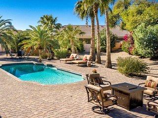 Lavish N. Scottsdale House w/Lush Backyard & Pool!