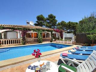 4 bedroom Villa in Cala San Vicente, Balearic Islands, Spain - 5686455