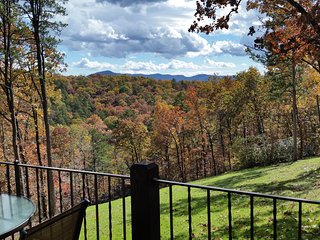 Fall view from the porch.