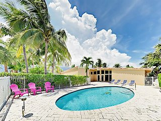 Sleek Waterfront 3BR w/ Private Pool, Patio & Ping Pong - 500 Yards to Beach