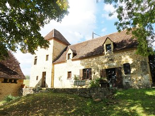 GRIFOULETS: Former farmhouse and barn lovingly restored set in acres of garden