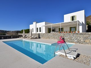 Villa Aktaia with 3 br and common pool for only 2 villas