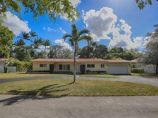 Lush Tropical Escape Miami Shores Home