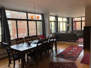 Very Bright Soho/Nolita Lower Manhattan Three-Bedroom Loft for up to 8