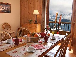 Appartement Cosy + Charmant, Ski aux Sybelles!