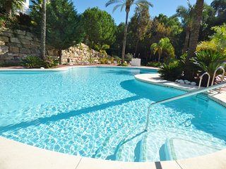 Spacious 3 bedroom apartment in beautiful Golf Resort.  Large swimming pool with