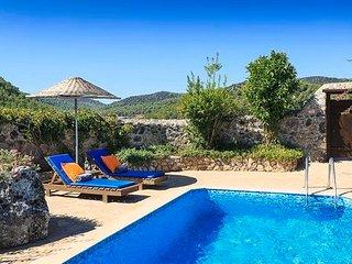 New Age Lettings Villa Tangala,1 bedroom villa in kayakoy with jakuzi&prvt pool