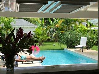 Villa Neuve avec piscine à 250 m de la Plage de Ballenas pour 8 personnes