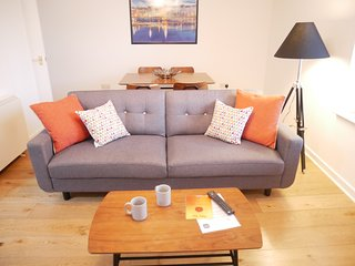 Nordic 2 Bedroom Apartment in Ulverston Town Centre (Double or Twin Beds)