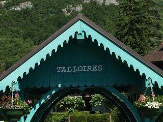 Talloires, Le PORT/PLAGE 8 pers.