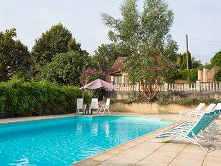 4 bedroom Villa in Mauzens-et-Miremont, Nouvelle-Aquitaine, France : ref 5683856