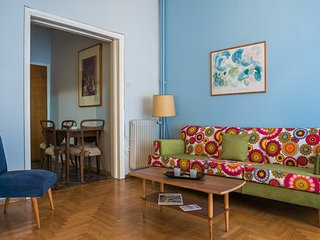 Vintage Athens Apartment