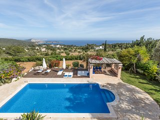 4 bedroom Villa in Es Cubells, Balearic Islands, Spain : ref 5685203
