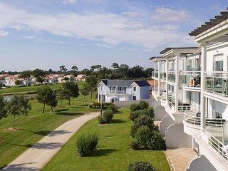 Appart cosy et sympa sur le terrain de golf | Terrasse/Balcon prive !