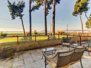 NEW LISTING! Updated condo right on the water with tremendous views!