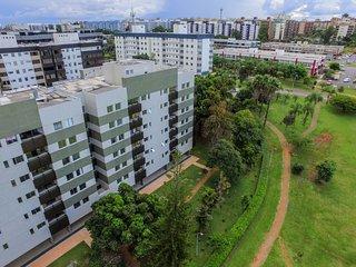 Apartamento no Sudoeste, vista livre, 6o andar, perto do Parque da Cidade