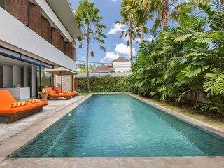 Private Canggu Pool Villa at 2BDR