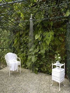 Its en-suite bathroom (tub and shower) opens to a second outdoor tropical shower.  Bedroom 3 connects directly to ...